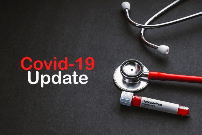 covid-19 update title screen